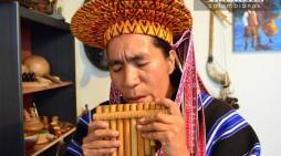 Taller de construcción de instrumentos musicales tradicionales en Sibundoy, Putumayo.