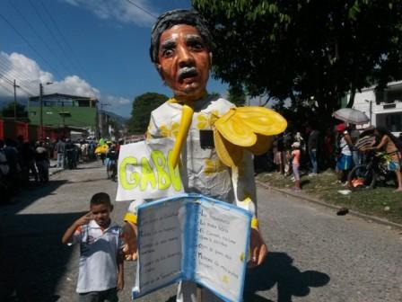 Gabo en el Carnaval