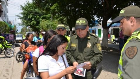 Policía en el Putumayo se solidariza con la búsqueda de Paula Nicol