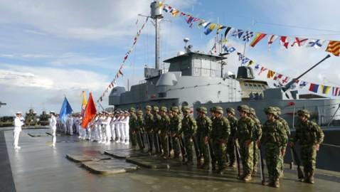 Armada Nacional conmemora aniversario 72 de la Base Naval ARC Leguízamo