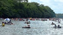 """""""El río San Juan Soy Yo"""" la regata 2015 en Puerto Caicedo"""