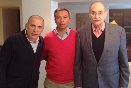 Roy Barreras, Leandro Romo y Horacio Serpa