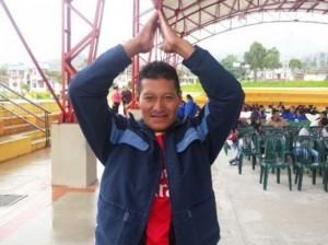 José Jairo Gelpud, ganador de vivienda gratis en Colón, Putumayo. Foto: Edna Sandoval. MVCT
