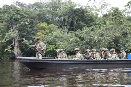 Infantería en el sur 2