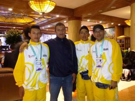 Indercultura Putumayo fortalece la participación de jóvenes deportistas del Putumayo. Foto Indercultura.
