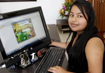 Ayda Milé España Jamioy, estudiante de segundo semestre de Ingeniería Civil en la Unal. Foto : LaPatria