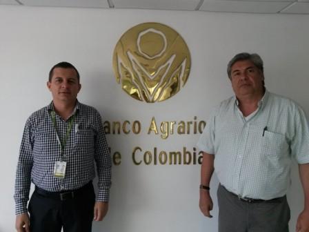 Gerardo Andrés Castro - Gerente Zonal Putumayo, Oficina Mocoa Giovanny Ramos Rodriguez - Subgerente Regional Sur. Oficina Neiva - Huila