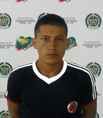 Andrés Henao Meza, solicitado por un juez de la Unidad Judicial Penal con sede en el Cantón Lago Agrio.