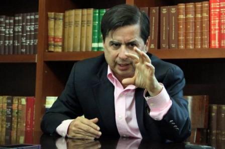 Juan Fernando Cristo, ministro del Interior. (Foto: COLPRENSA – EL NUEVO DÍA)
