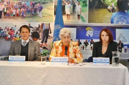 Alta Comisionada Adjunta de las Naciones Unidas para los Derechos Humanos, Flavia Pansieri