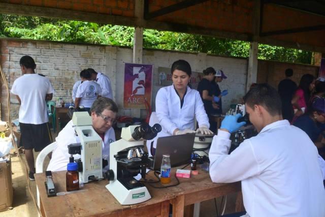 Servicio gratuito exámenes de laboratorio