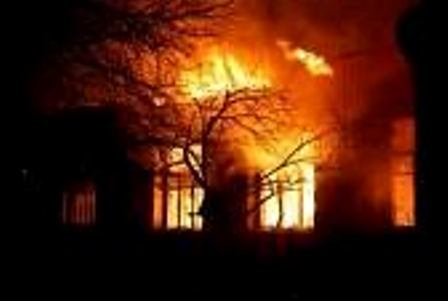 Incendio en casa principal de la Comunidad Nasa de Buenavista (Orito).
