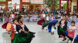 Mocoa recibió a grupos de danzas del Putumayo
