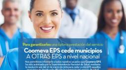 Coomeva EPS cede municipios a otras EPS a nivel nacional
