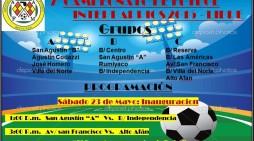 Inicia el campeonato de futbol interbarrios 2015