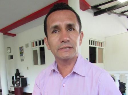 En la foto Alonso Brrera sanchez, presidente comité de accion liberal del Putumayo
