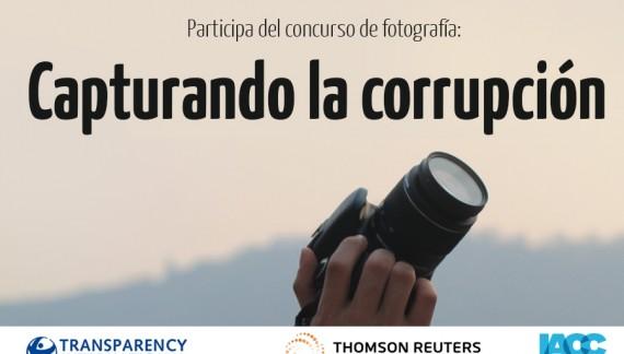 Participa del concurso de fotografía: Capturando la corrupción