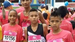 La bandera Putumayense ondeó en la Media Maratón de Cali 2015
