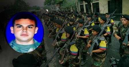 El subteniente Cristian Moscoso Rivera.