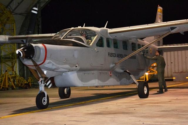 Desde Puerto Leguízamo, Fuerza Aérea traslada a Bogotá a menor de edad