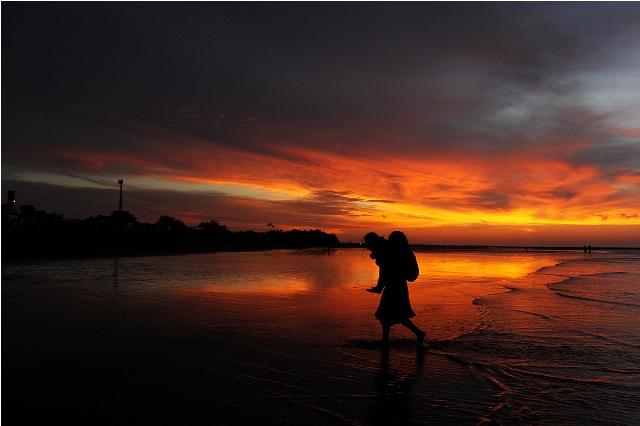 Foto No 1. Crepúsculo en la Perla del Pacífico..