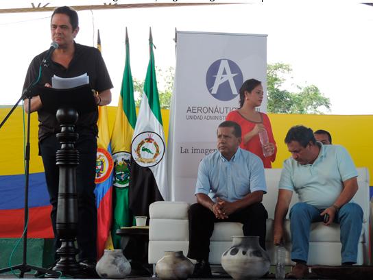 Vicepresidente anuncia la ampliación de la pista del aeropuerto en Puerto Leguízamo