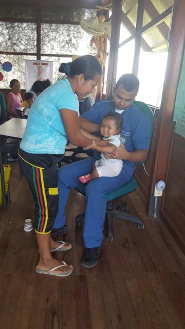 Jornada de Apoyo al Desarrollo en el Barrio La Paz – Puerto Leguízamo, realiza la Fuerza Naval del Sur