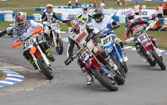 Tres colombianos estuvieron entre los diez primeros de la competencia que ganó Pavel Kejmar. FOTO COLPRENSA