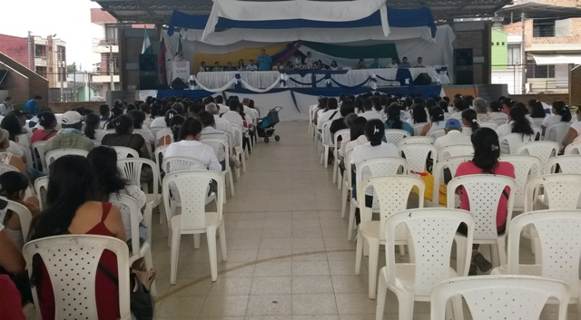 Evento en Mocoa - 11 de Septiembre de 2015