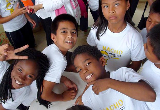 Foto: Estudiantes beneficiarios Programa Ondas – TIC