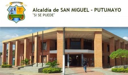Alcaldía de San Miguel - Foto : www.sanmiguel-putumayo.gov.co