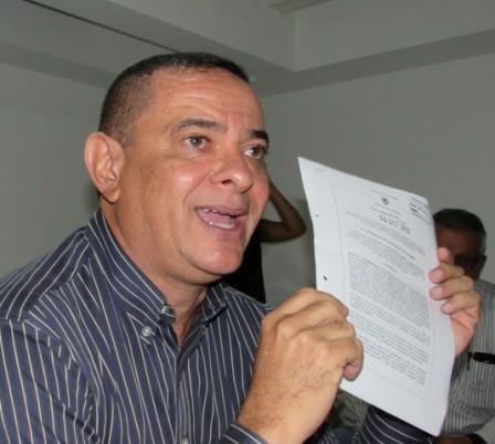 Orlando Caballero Díaz, delegado Registraduria Foto : Germán Arenas