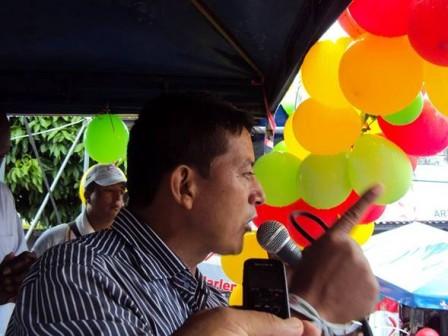 Arturo Rosero el candidato que enseñó a soñar a Orito.