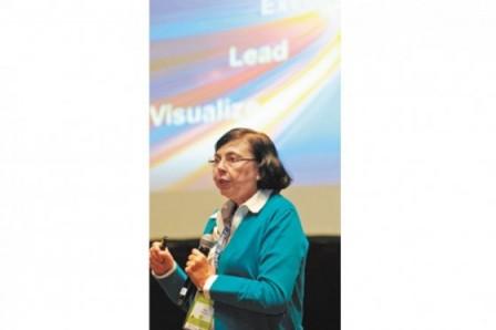 Militza Basualdo, vicepresidenta socia ejecutiva de la firma Gartner. / Cortesía