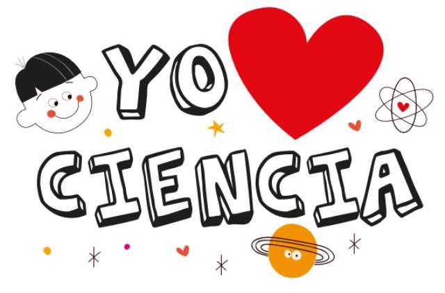 Logo Yo amo la Ciencia-Colciencias