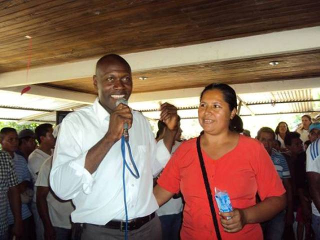 Manuel Eduardo Ocoro Alcalde electo de Orito, Putumayo.