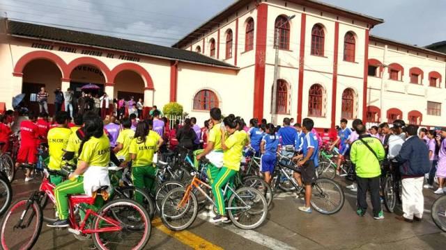 jueves 5 de noviembre. ciclopaseo por las rutas rurales del valle de sibundoy. maravilloso recorrido que bien puede ser explotado como importante renglón turístico.
