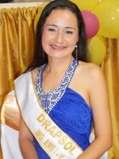 Drapsol Córdoba, estudiante del Programa de Ingeniería Ambiental, fue la ganadora al reinado 'Mis Simpatía - 2015'.