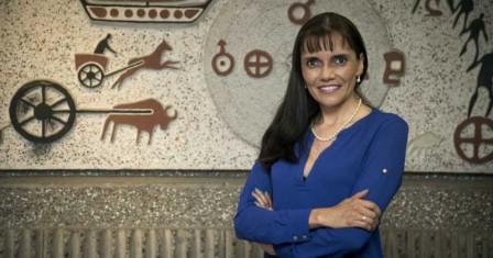 Detrás de la investigación y del desarrollo de este parche se encuentra la doctora Lucy Gabriela Delgado Murcia, líder del Grupo de Investigación en Inmunotoxicología de la Universidad Nacional. Foto: Archivo particular.