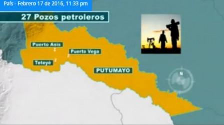 Estos 27 pozos de petróleo representan el 1.4% de la producción total del combustible del país. Foto: NoticiasRCN.com