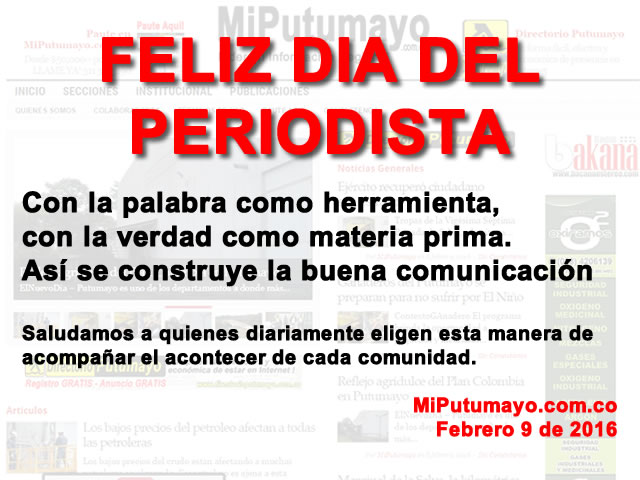 Dia Periodistas 2016 - FEbrero 9
