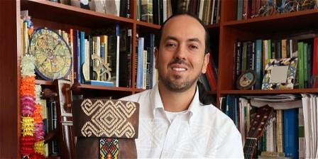 Foto: Claudia Rubio / EL TIEMPO El profesor bogotano Miguel Rocha (1976) también disfruta escribiendo sobre viajes.