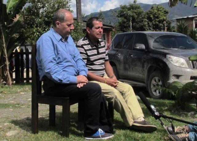 Germán Arenas y John William Vargas