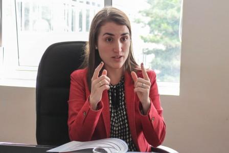 María Isabel Ulloa, viceministra de Minas