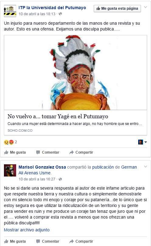 Facebook. click - Ampliar