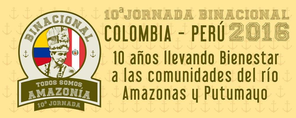 Colombia y Perú realizan la décima jornada binacional de atención a comunidades de las riberas de los ríos Putumayo y Amazonas