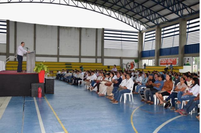 Adrian Coral, Presidente Gran Tierra Energy Colombia – Viernes 13 de mayo – Coliseo IE Guillermo Valencia
