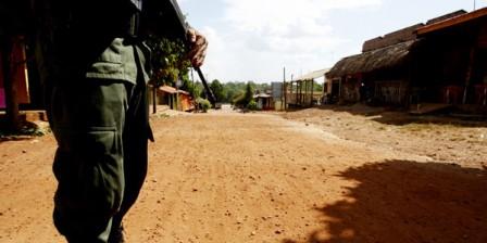 Foto: Archivo / EL TIEMPO 'La Constru' surgió de la desmovilización en marzo del 2006 del Frente Sur Putumayo del Bloque Central Bolívar de las Autodefensas.