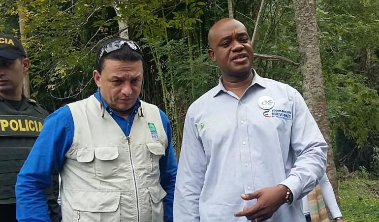MINISTRO DE MEDIO AMBIENTE LUIS GILBERTO MURILLO. El funcionario dijo que la paz está en el campo. / Jhon Hernández