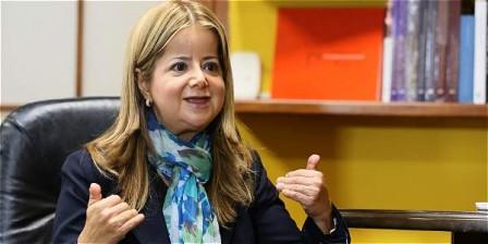 Foto: Claudia Rubio Elsa Noguera De La Espriella, ministra de Vivienda, Ciudad y Territorio.